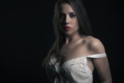 The white dress